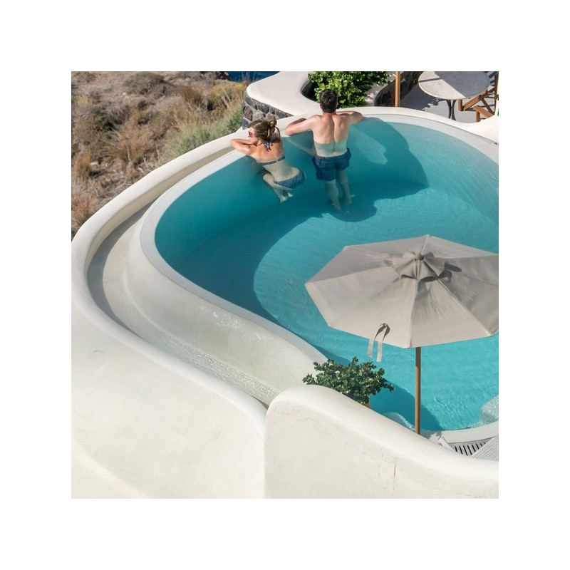 Micro-concrete full kit - Swimming Pool - 25 to 100 sqm