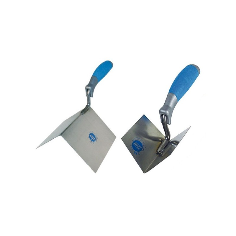 duo of wall corner trowels