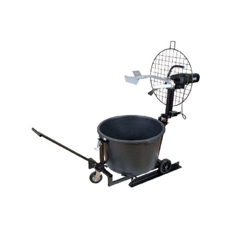 Mobile mixing station - 6 liters