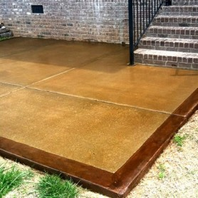 Full package - Stained concrete for inside