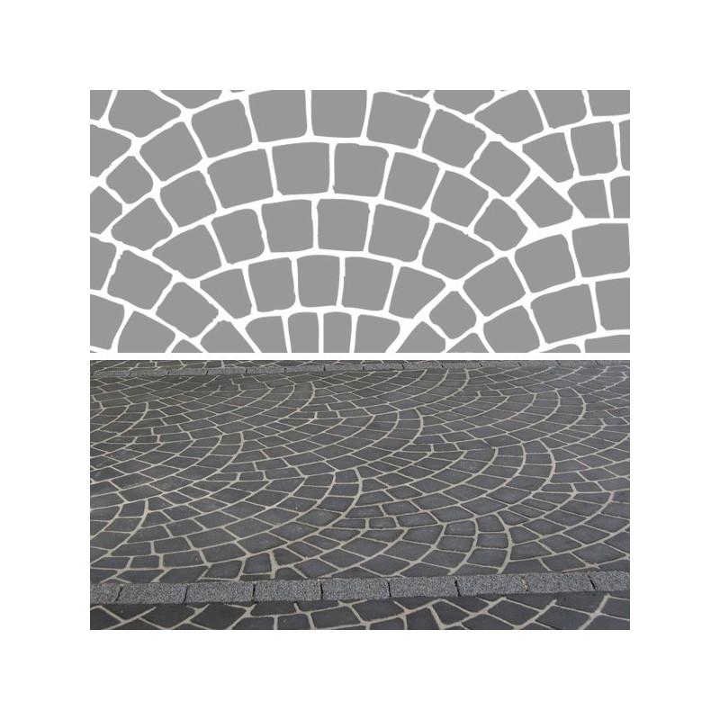 Stencil Pattern - Fish Scale