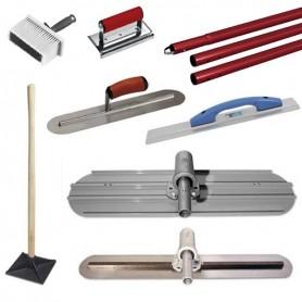 Werkzeugsatz für gebeizte Betonwerkzeuge