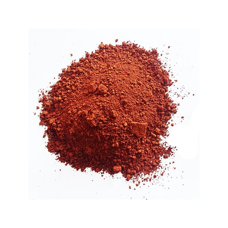 Pigmento ocra rosso