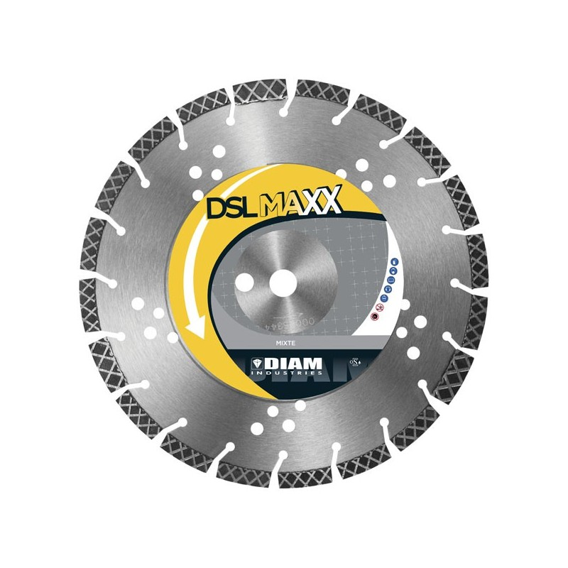 Blade DSLMAXX 350mm Multimateriali