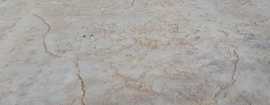 Seamless skins for stamped concrete