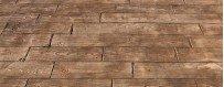 Moldes imitación maderas para hormigón impreso