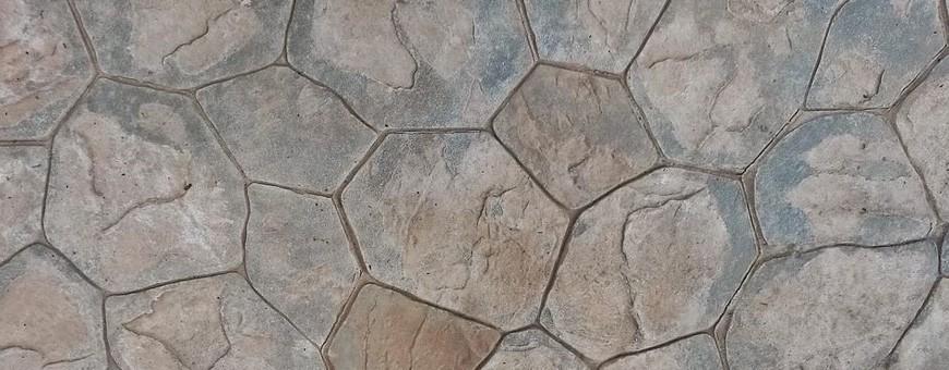 Modele de piatră pentru beton ștanțat