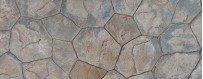 Moldes imitación piedras para hormigón impreso