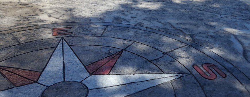 Rosoni stampi per pavimento stampato