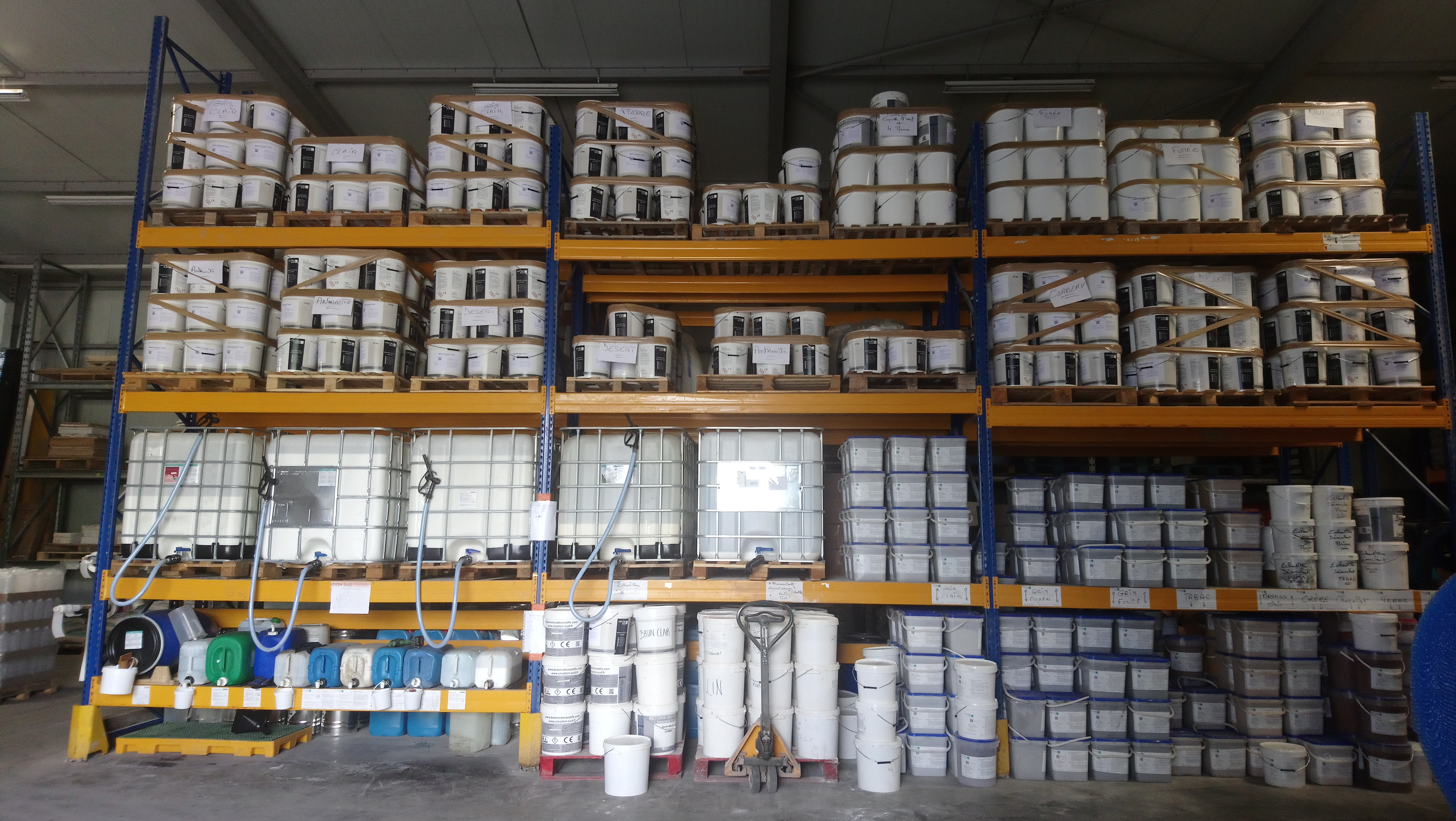 liquid manufacture